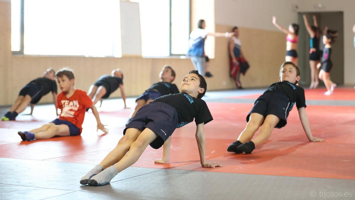 Gimnastica artistica masculina promoció EGIBA