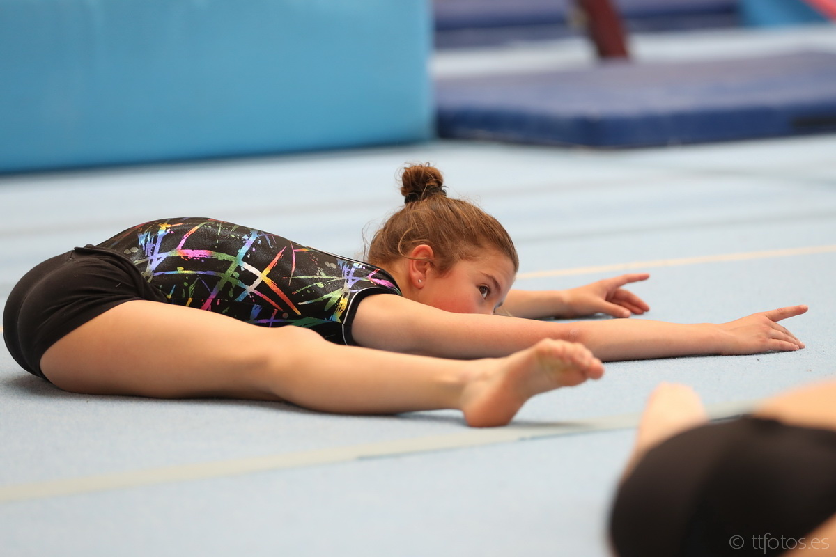egiba gimnastica artistica femenina nivell Base 1