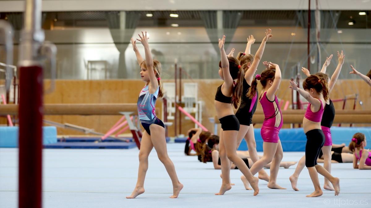 gimnastica artistica femenina iniciacio EGIBA 5