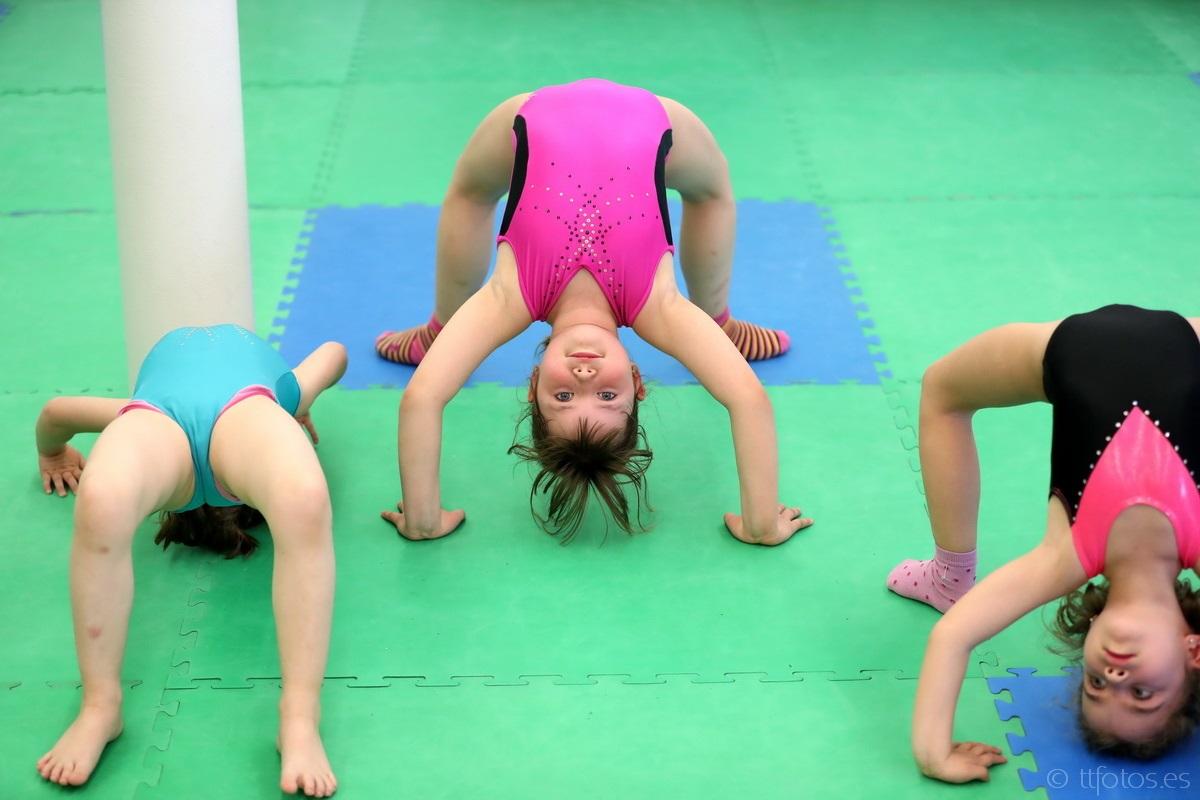 gimnàstica artística per a nens i nenes al bages