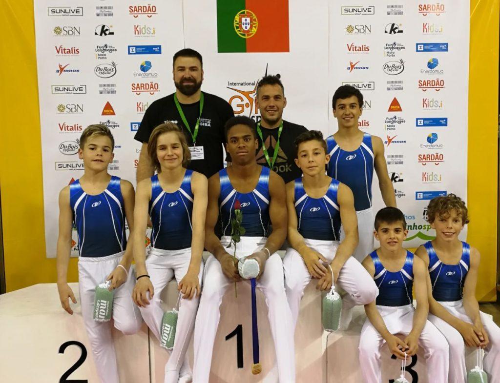 L EGIBA brilla en el GymSport de Portugal