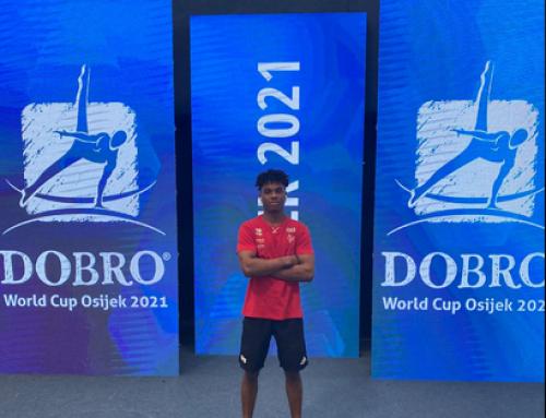 Thierno Boubacar Diallo encara a Tokio a la Copa del Món de Osijek, Croacia.